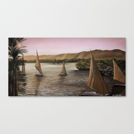 'Peaceful Sailing' Canvas Print