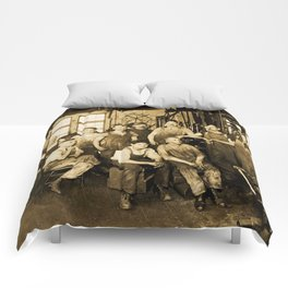 DeFrancisci & Son Macaroni Machines Comforters