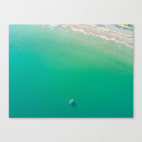 Summer Solitude Canvas Print