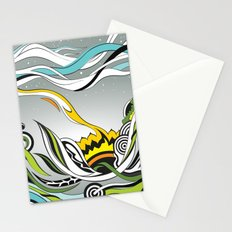 When the Earth meets the Sky Stationery Cards