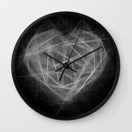 Coração Transcrito 2 Wall Clock