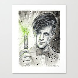 Doctor Who: The 11th Doctor Canvas Print