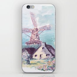 Le moulin iPhone Skin