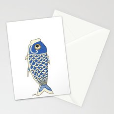Koi Blue Stationery Cards