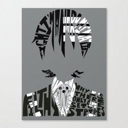 death the kid soul eater Canvas Print