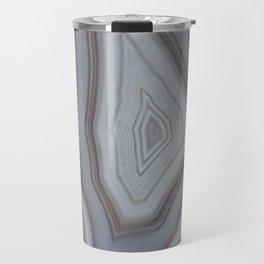 Neutral tones agate Travel Mug