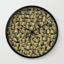 Army of little lamps Wall Clock