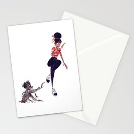 Zombie Attack Stationery Cards