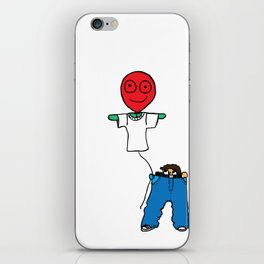 It's whats on the inside that matters iPhone Skin