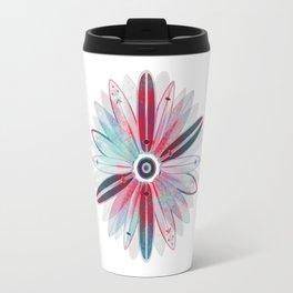 Flower of Surfboards Travel Mug