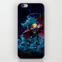 fullmetal alchemist iPhone & iPod Skins featuring Two Alchemist by BradixArt