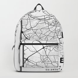Galway Light City Map Backpack