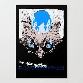 Wolves Canvas Print