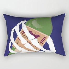 Absinthe Kills Rectangular Pillow