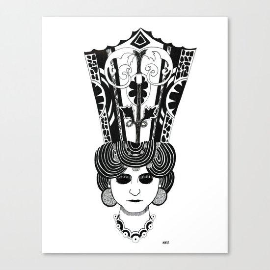 Crowned Canvas Print