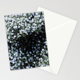 Snowflake Flowers Stationery Cards