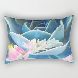 Bold Succulent Rectangular Pillow