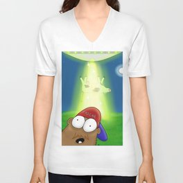 Dale BigFoot Selfie Unisex V-Neck
