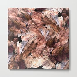 Abstract Almond  Metal Print