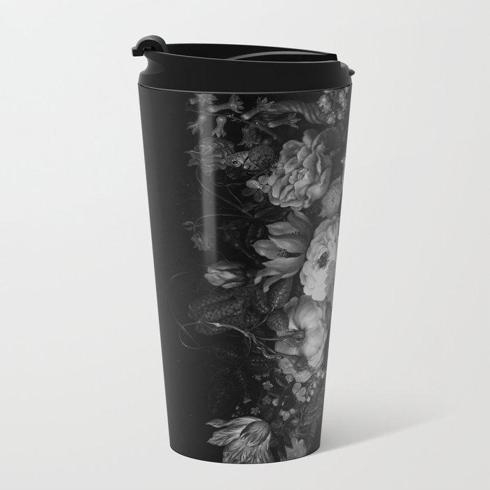 Botanical Darkness Metal Travel Mug