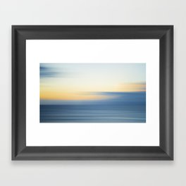 Abstract Sunrise Framed Art Print