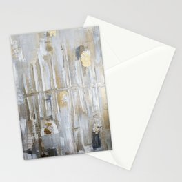 Metallic Abstract Stationery Cards