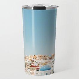 View of Santorini Island Greece Oia Travel Mug