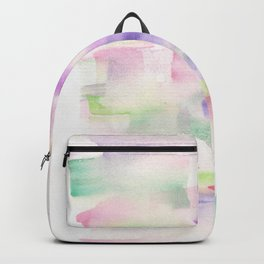170527 Back to Basic Pastel Watercolour 19 |Modern Watercolor Art | Abstract Watercolors Backpack