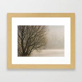 Blagdon Lake Framed Art Print