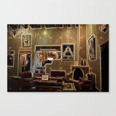 Adobe Lobby Canvas Print