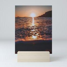 The Sean And The Beach Mini Art Print