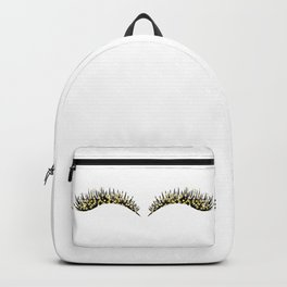 Golden dazzle lashes Backpack