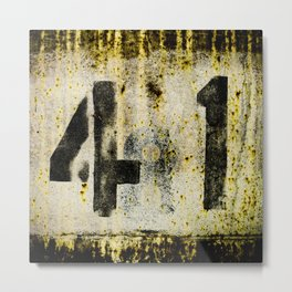 41 texture Metal Print