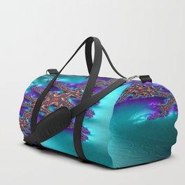 Blameless Beholder Fractal - Abstract Art Duffle Bag