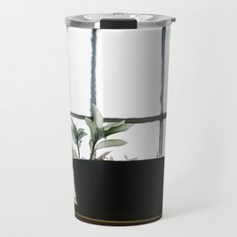 Plants in the Pantry Window Travel Mug