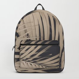 Palm Leaves Sepia Vibes #3 #tropical #decor #art #society6 Backpack