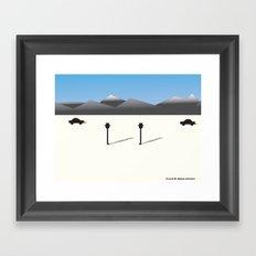 The Meet Framed Art Print