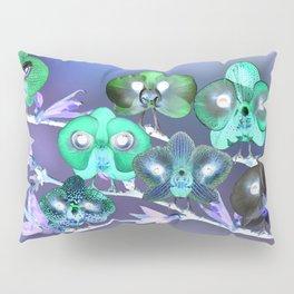 Orchid Birds Pillow Sham