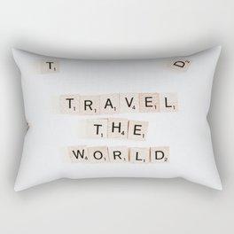 Travel The World Rectangular Pillow