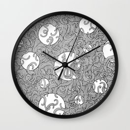 Noodle Madness Wall Clock