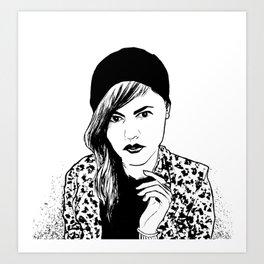 Ditty Art Print