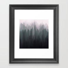 Morning Fog II Framed Art Print