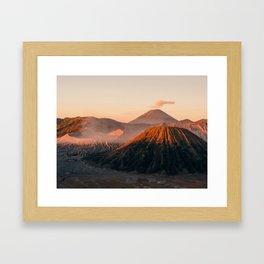 Might Mount Bromo // 4:3 Framed Art Print