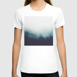 The space between T-shirt