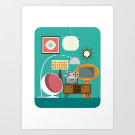 Junkshop Window Art Print