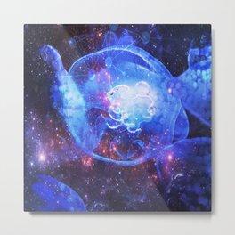 MEDUZA IN SPACE Metal Print