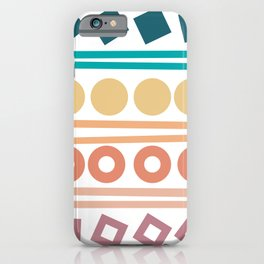 Geometric...inspired by Paul Rand iPhone Case