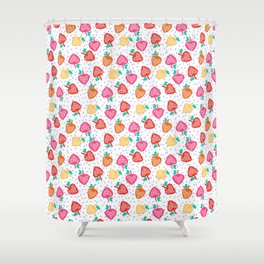 Strawberry fields Shower Curtain