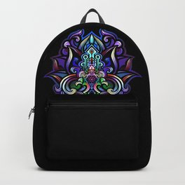 lotus heart temple Backpack
