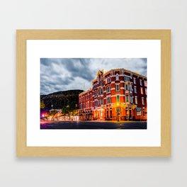 Historic Downtown Durango Colorado Along Main Avenue Framed Art Print